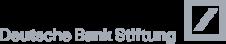 Logo der Deutschen Bank Stiftung